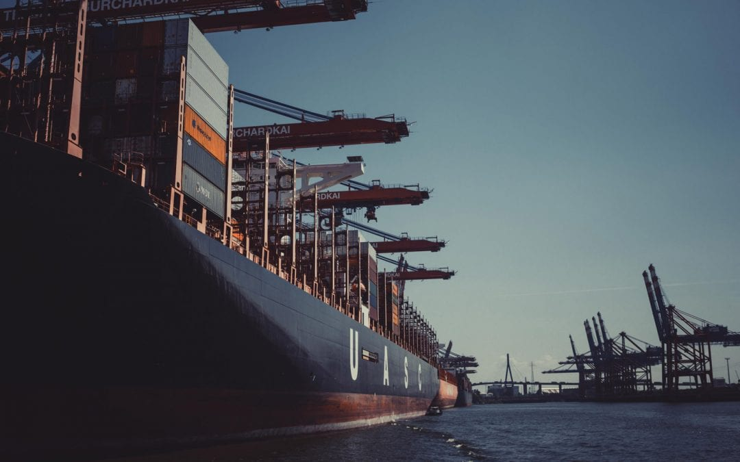 Container Ship Side View | PPUK